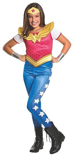 Rubies Costume Kids DC Superhero Girls Wonder Woman Costume, Medium