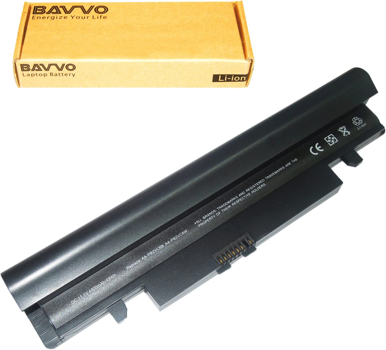 Bavvo Battery Compatible with Samsung NP-N150 Plus, Black
