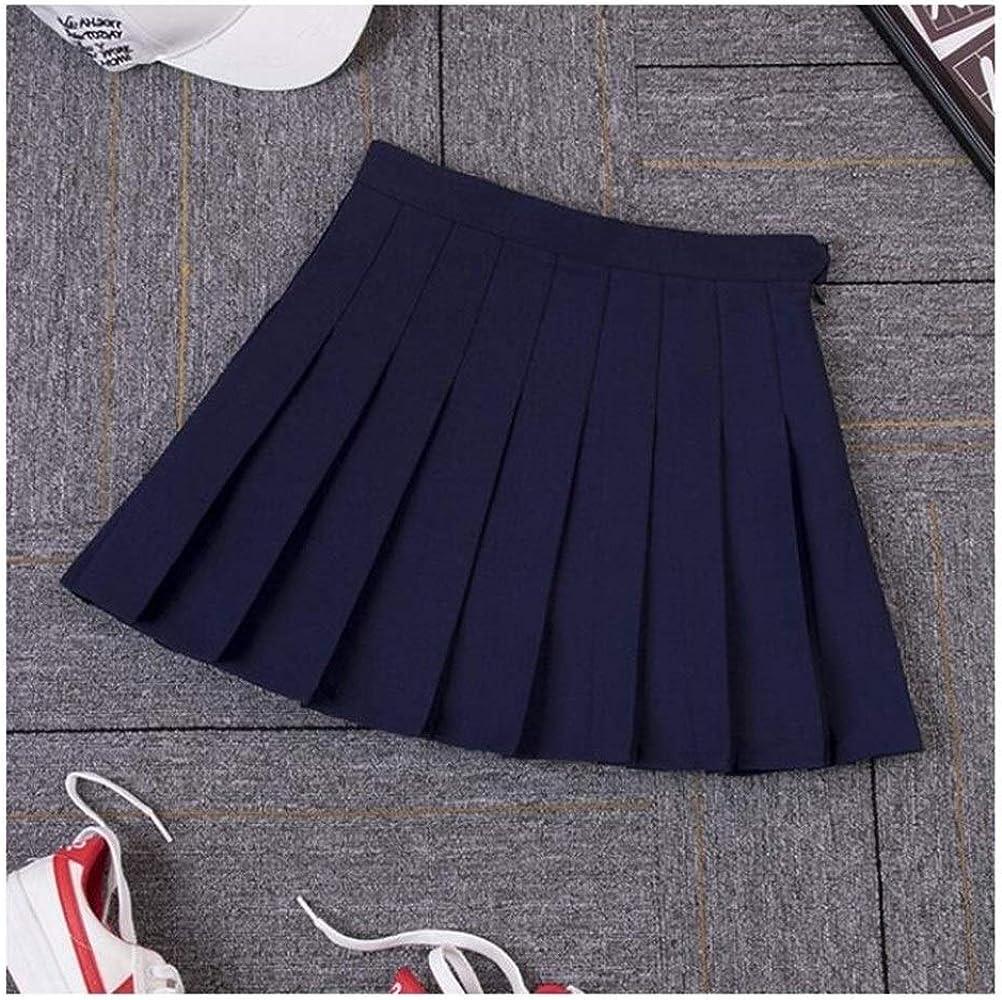 Nueva Altura de la Cintura una línea Faldas Plisadas de Harajuku ...