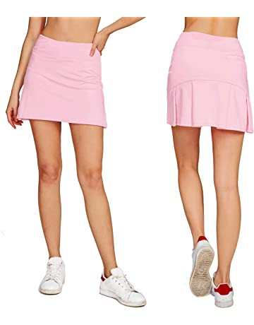 73037b950c721 Cityoung Women's Casual Pleated Tennis Golf Skirt with Underneath Shorts  Running Skorts