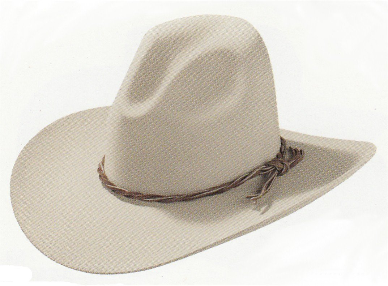 Stetson Men's 6X Gus Fur Felt Cowboy Hat Silverbelly 7 1/4