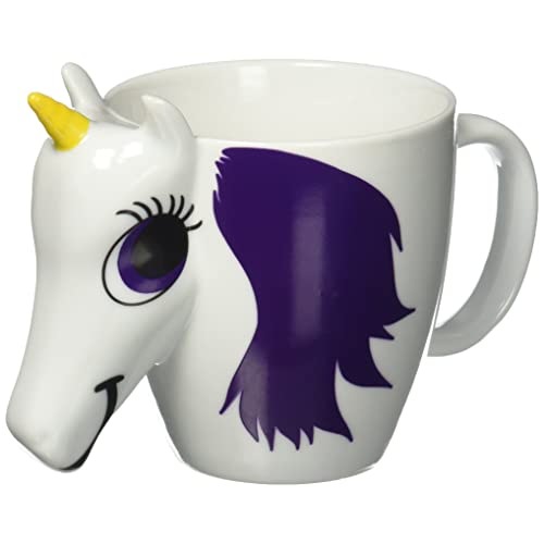 thumbs Up! - Unicorn Mug - Tasse Céramique du changement de couleur en forme d'une licorne  - multicolore - 300ml - 1001556