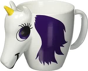 Thumbs Up UK Unicorn Color Changing 10 oz Ceramic Coffee Mug