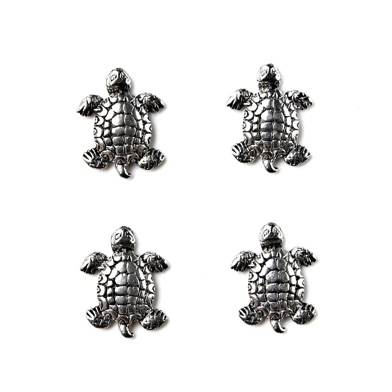 Quality Handcrafts Guaranteed Turtle Tuxedo Studs