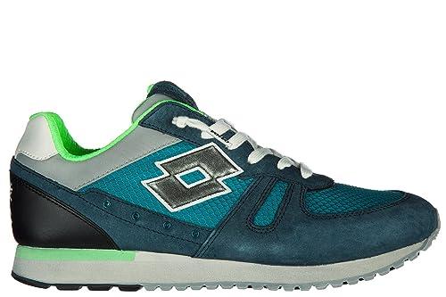 Lotto Leggenda Scarpe Sneakers Uomo camoscio Nuove Tokyo Shibuya Blu EU 40  S8841 306169ba977