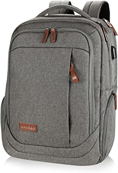 Large Laptop Travel Computer School College Backpack 17.3 In Notebook Women Men
