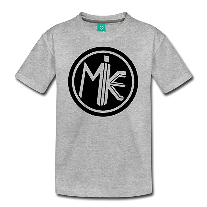 Spreadshirt Funnel Vision Mike Logo Kids Premium T Shirt Youth XS Heather