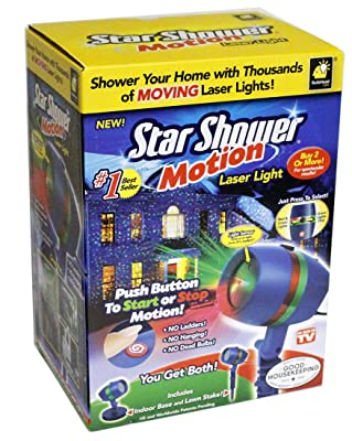 Star Shower As Seen on TV Motion Laser Lights Star Projector