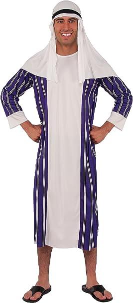 Rubies - Disfraz de árabe para adultos, talla única standard ...