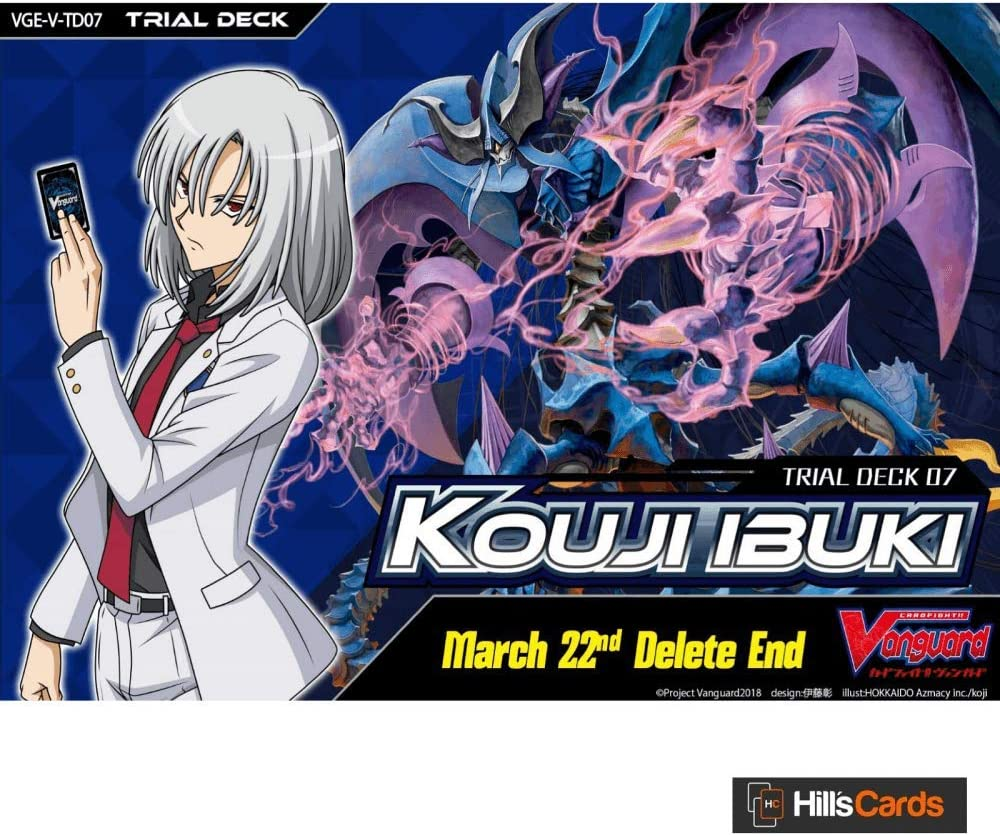 Bushiroad Cardfight Vanguard VGE-V-TD07 Kouji Ibuki Trial Deck English Deletor Link Joker