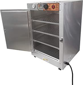 HeatMax 16x16x24 Hot Box Food Warmer, Countertop Pizza, Patty, Pastry, Empanada, Concession Hot Food Holding Case