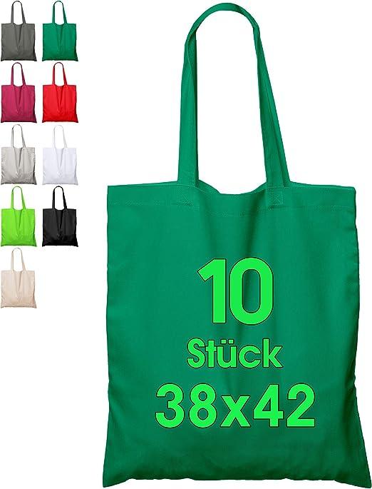 Bolsa de algodón, 38 x 42 cm, 10 Unidades, sin Estampar, Bolsa de ...