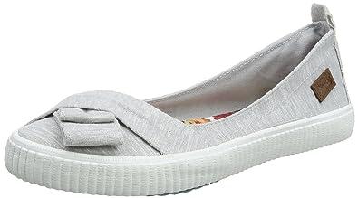 Blowfish Damen Sansa Slip on Sneaker, Grau (Grey Ocean Wave 174), 36 EU