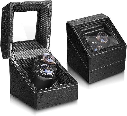 Caja Relojes Automaticos, Silencioso Cajas Giratorias con Motor ...