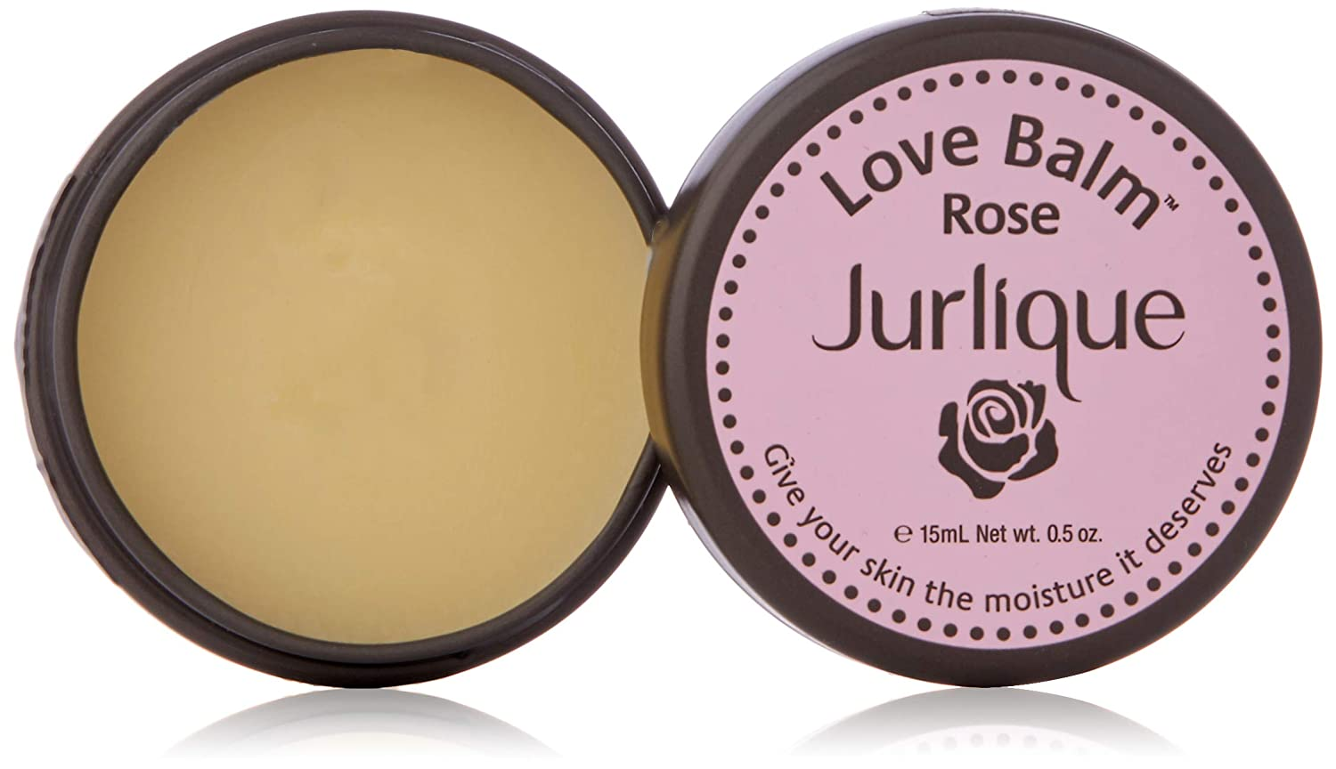 Moisturizing Lip Balm - Jurlique: Rose Love Balm - 0.5 oz - Moisturizes and Protects Dry Skin, Hydrates and Softens With Olive Oil and Safflower Seed Oil, Infused With The Natural Scent of Roses