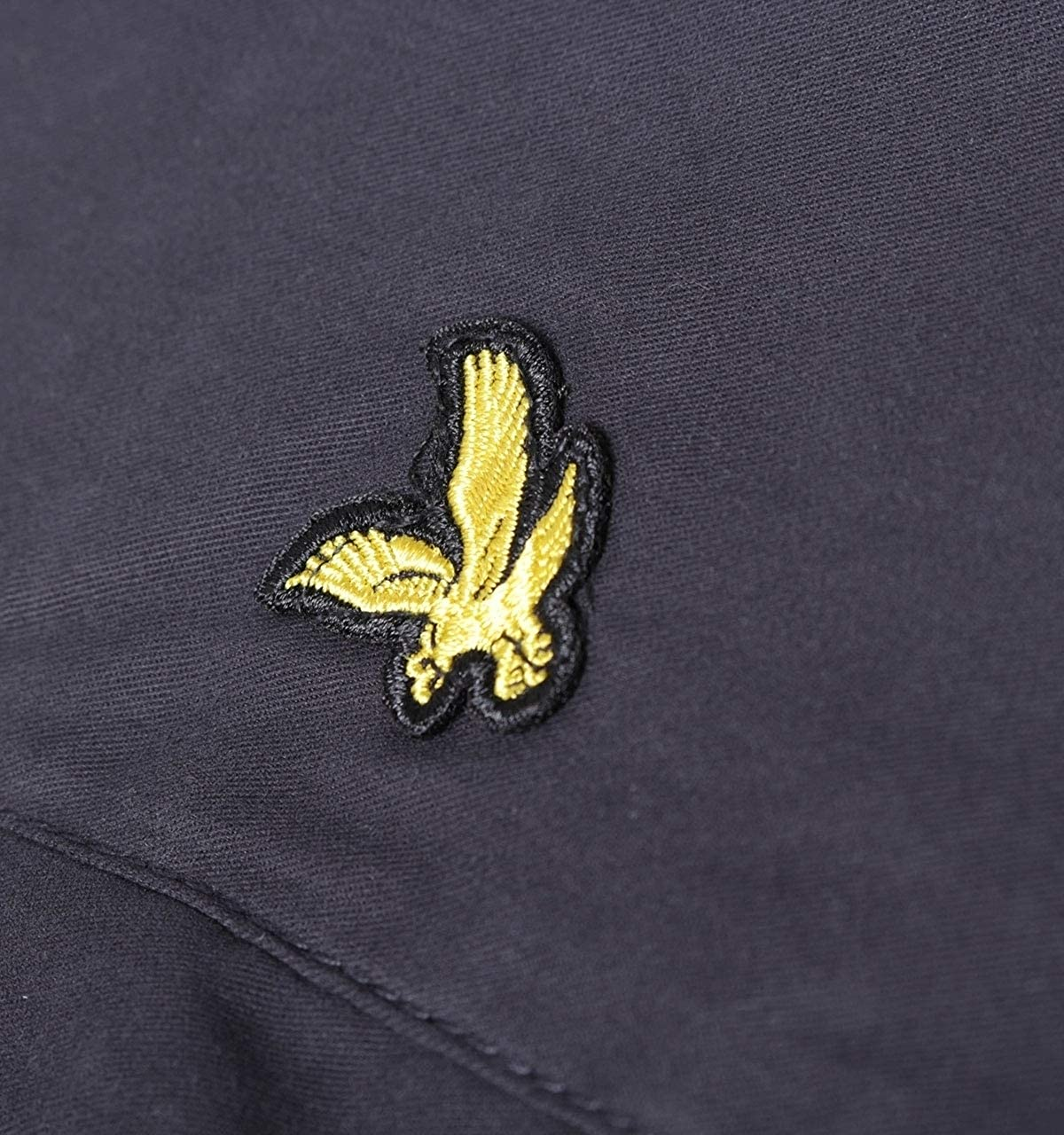 Lyle and Scott Mens Lightweight Funnel Neck Jacket Cotton