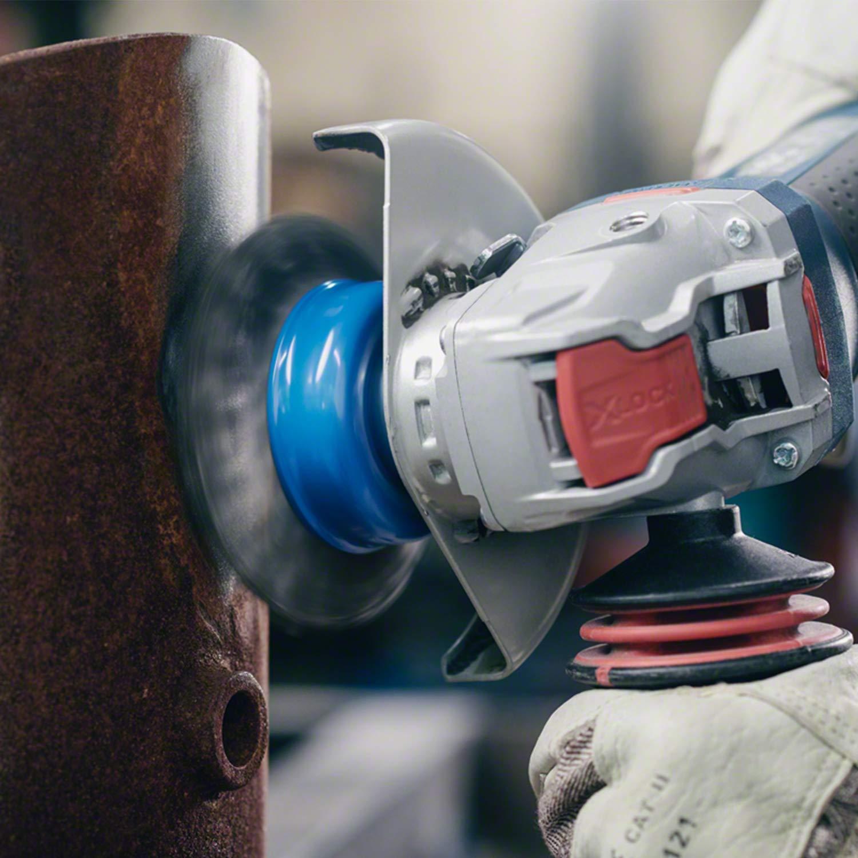Bosch Professional gewellte Topfb/ürste Clean f/ür Metall, X-LOCK, /Ø 75 mm, Drahtst/ärke 0,3 mm, f/ür /Ø125 mm