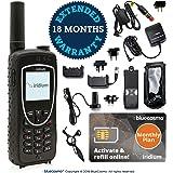 BlueCosmo Iridium Extreme Satellite Phone & Monthly Service Plan SIM Card - Voice, SMS Text Messaging, GPS Tracking…