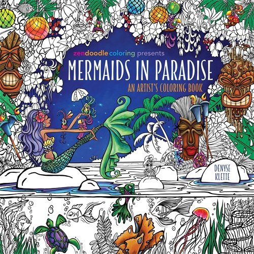 List of the Top 10 mermaids in paradise coloring book you can buy in 2019