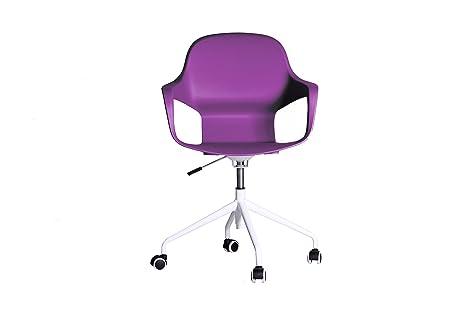 Set Da Scrivania Viola : Sedia da ufficio pc o scrivania in colore: viola con struttura