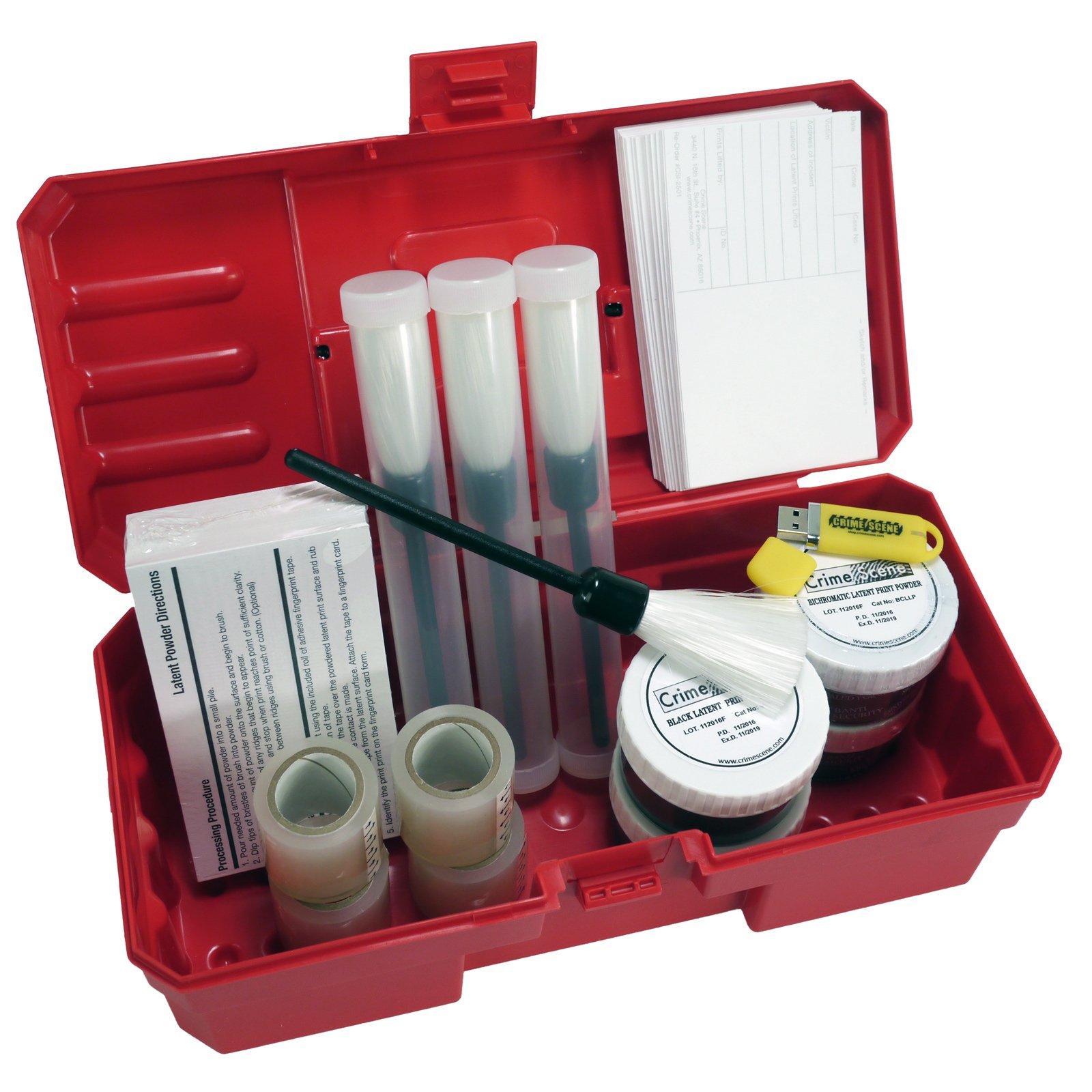 Latent Fingerprint Kit, classroom pack (White)