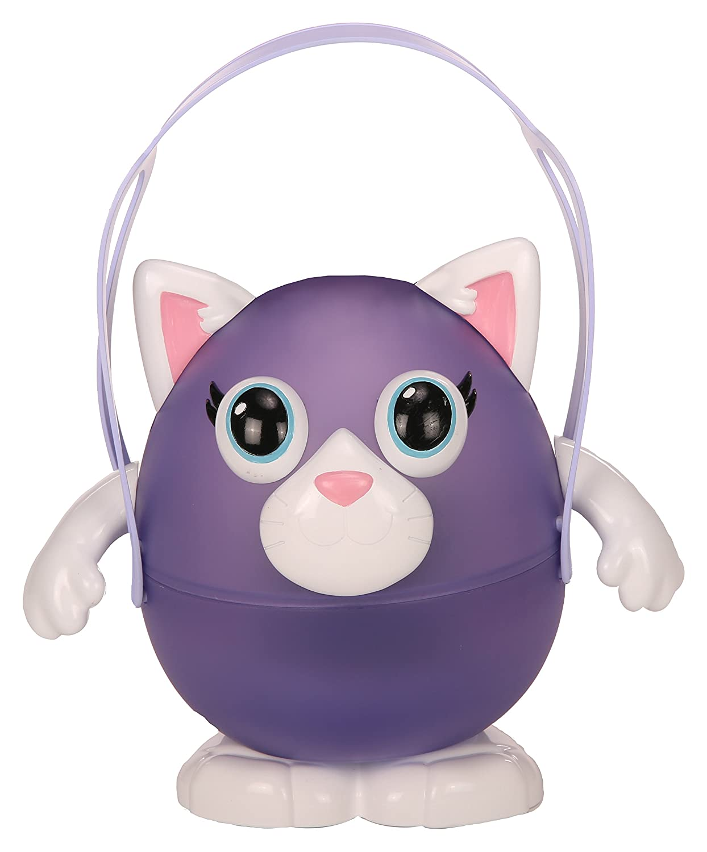 NUL002 Lumizous Veilleuse Animal-Modèle Chat Violet GIOCHI PREZIOSI