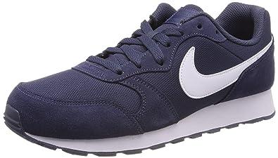quality design 4f694 ba4e5 Nike Md Runner 2 Pe (Gs) Chaussures de Running bébé garçon, Bleu (