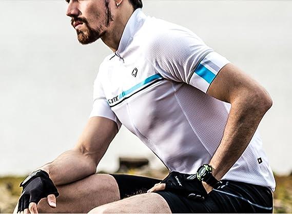 CS Tech Short Sleeve Cycling Jersey Club Cut Fitness Running
