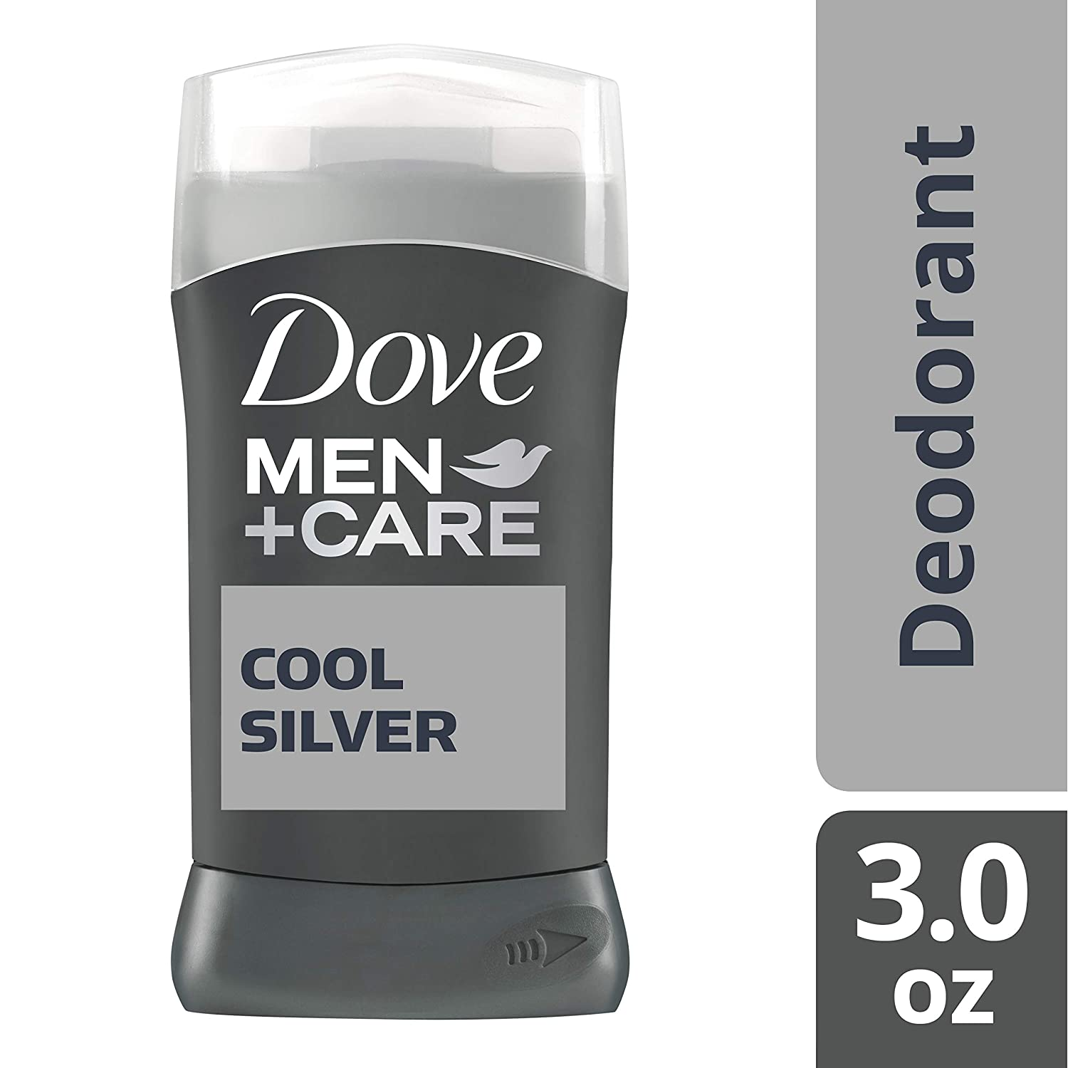 Dove Men+Care Deodorant Stick, Cool Silver, 3 oz