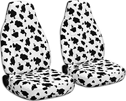 Animal Print Car Seat Covers Cow