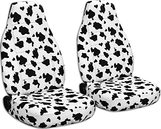 Amazon Com Animal Print Car Seat Covers Beige Snow Tiger