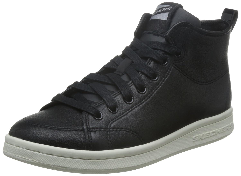 Skechers Damen Omne-Midtown Hohe Sneakers, Weiszlig;  39 EU|Schwarz