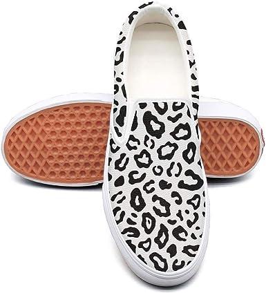 Snow white leopard print Classic Women