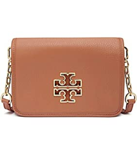 a9f67a20ade Tory Burch Bombe T Logo Small Leather Cross Body Bag Women s Handbag ...