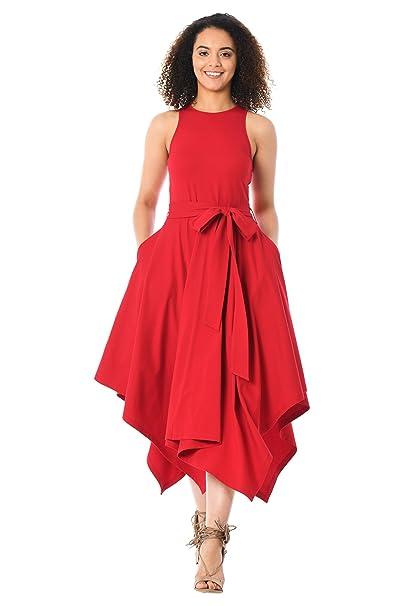 aa7d9f98d158 eShakti - Vestito - Donna Haute red Taglia 52 Regolare Altezza  Amazon.it   Abbigliamento