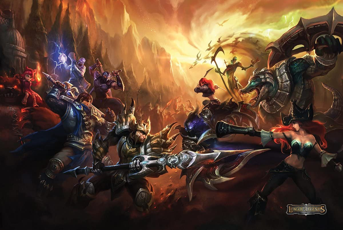 League of Legends Poster 24x36