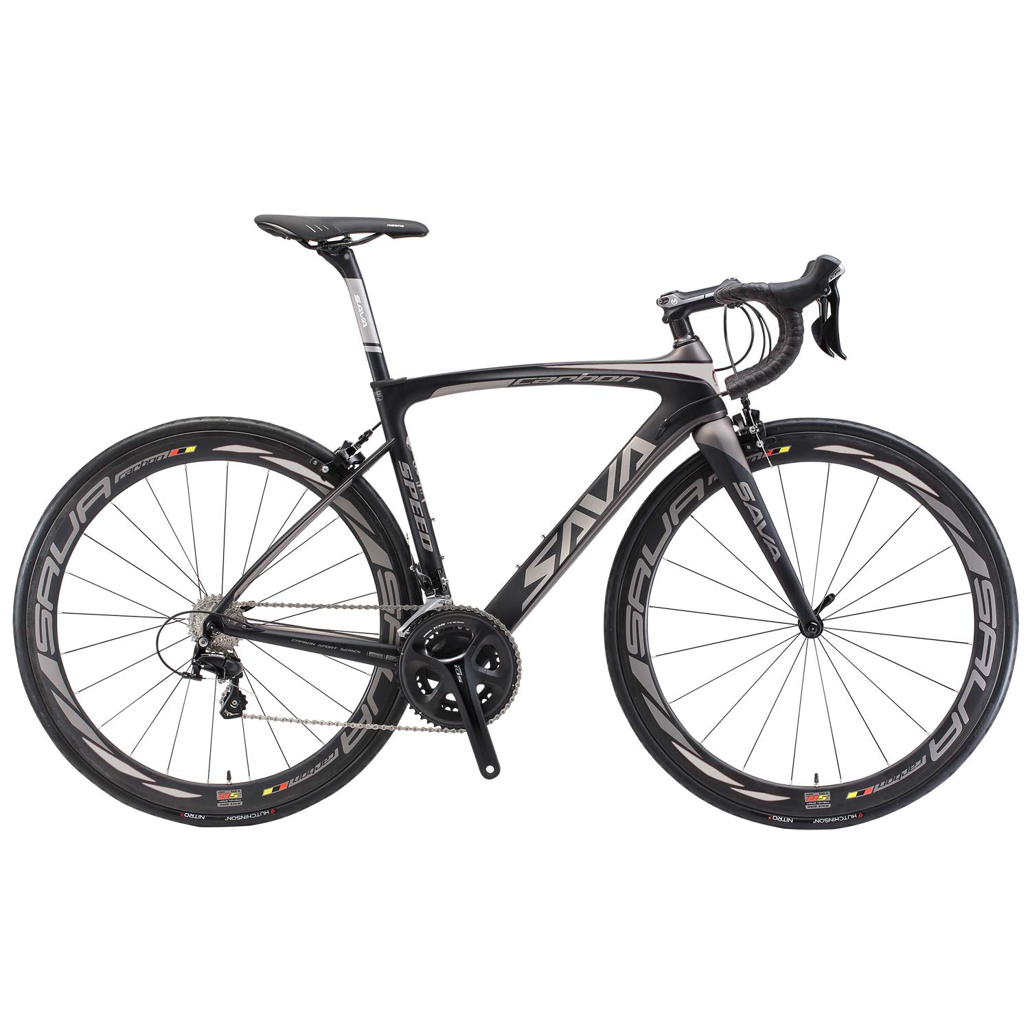 Carbon Fiber Road Bike >> Amazon Com Savadeck Carbon Road Bike Herd9 0 700c Carbon Fiber