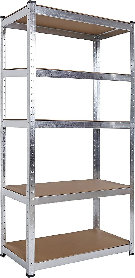Estantería para cargas pesadas de esquina XL Almacenaje y orden en trastero garaje sótano taller