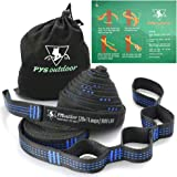 pys XL Hammock Tree Straps, 40 Loops&20ft Long Combined, 2000 LBS Heavy Duty, Lightweight, Easy Setup, Fits All Hammocks…