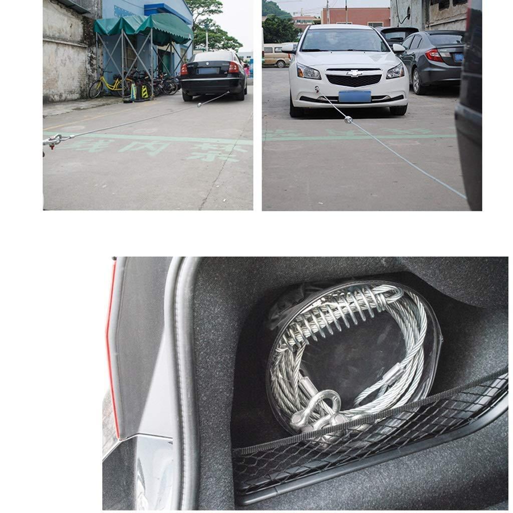 DWLXSH Acero galvanizado cable de remolque, 11023 lb resistencia a ...
