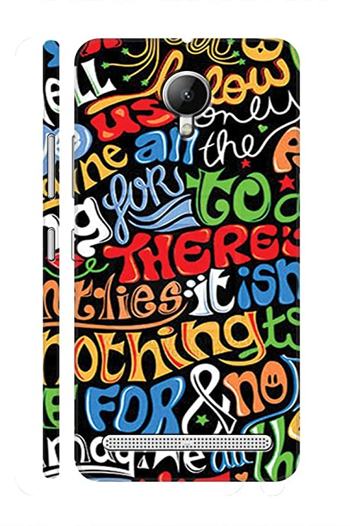 check out 3ced9 12cdc SRS Graffiti Names 3D Back Cover for Lenovo Vibe C2: Amazon.in ...