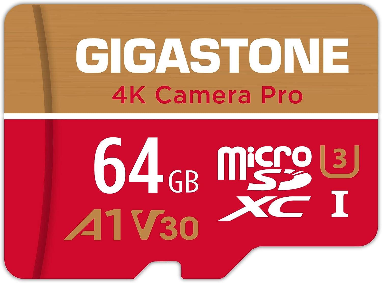 Gigastone 64gb Micro Sd Speicherkarte 4k Kamera Pro Computer Zubehör