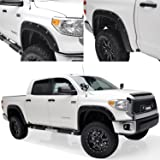 E-Autogrilles 21291 Black Fender Flare (14-15 Toyota Tundra Pocket Rivet Style Short, Standard and Long Bed)
