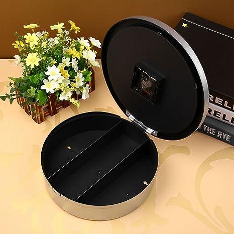 Kicode Secreto Oculto Creativo Reloj de pared Joyería segura del dinero Stash Almacenamiento de cosas Caja de contenedores: Amazon.es: Hogar