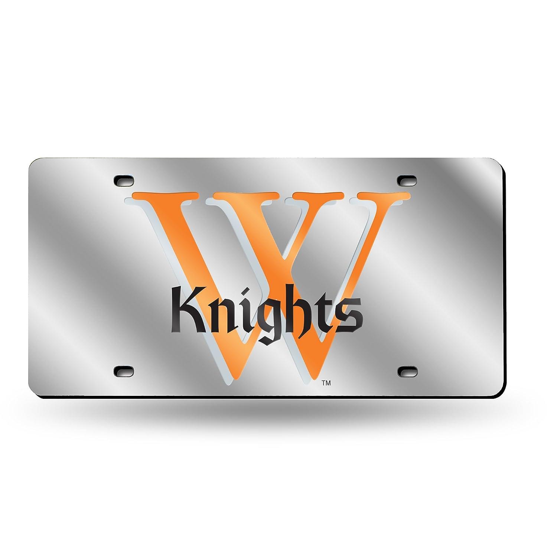 Rico NCAA Wartburg College Knights Laser Cut License Plate Silver Rico Industries Inc LZS250501