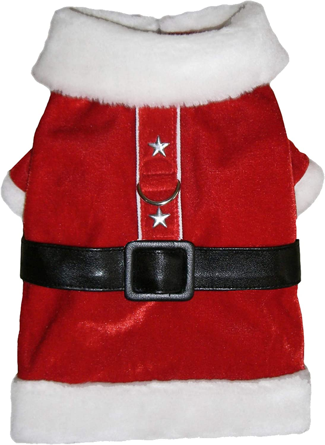 Collar Slider Tie Bow Tie Pajamas and Hat Pooch Outfitters Dog Christmas Outfit Collection Great for Family Xmas Card Photos Dress Scarf Coat
