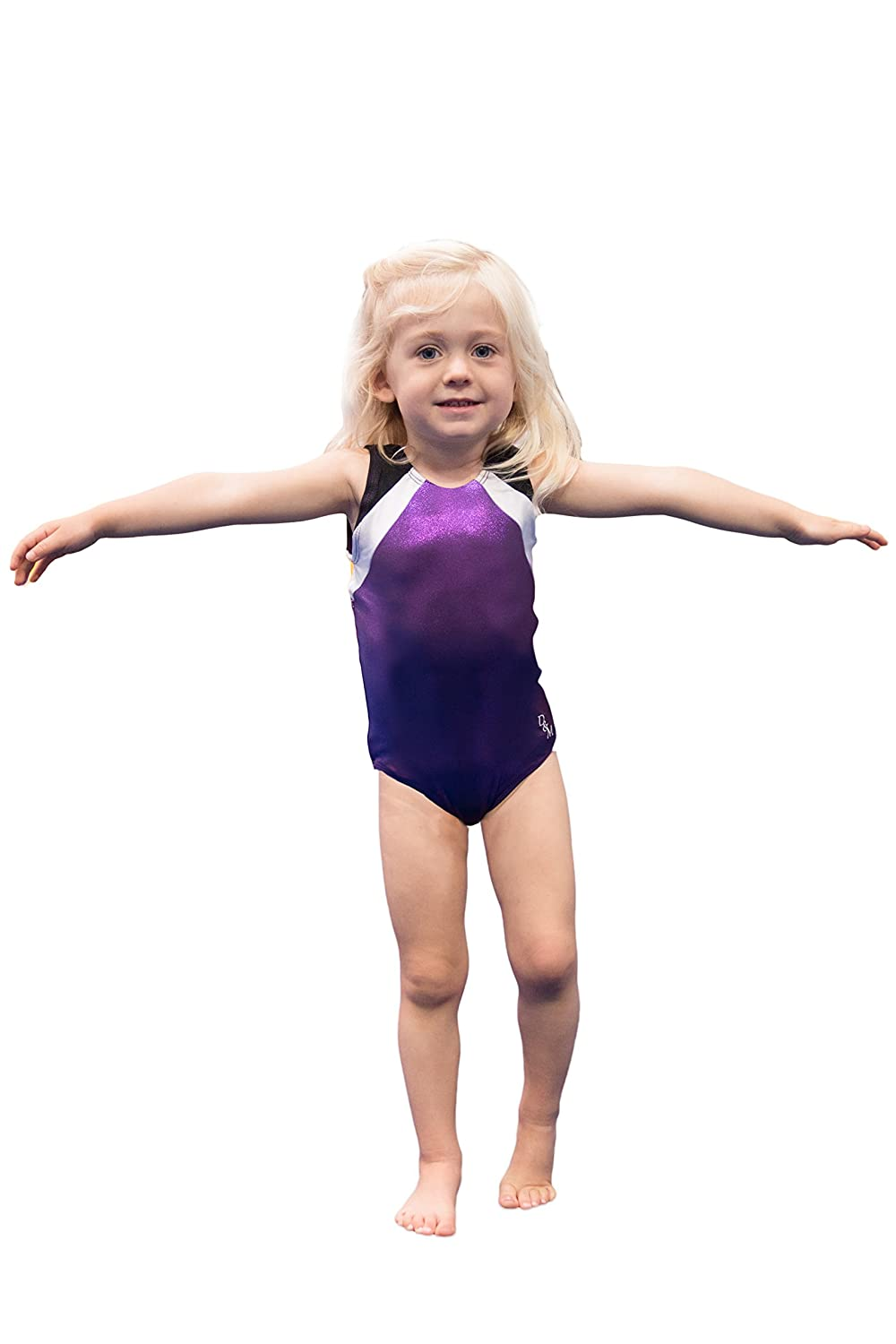 amazon com d u0026m gymnastics leotard sports u0026 outdoors