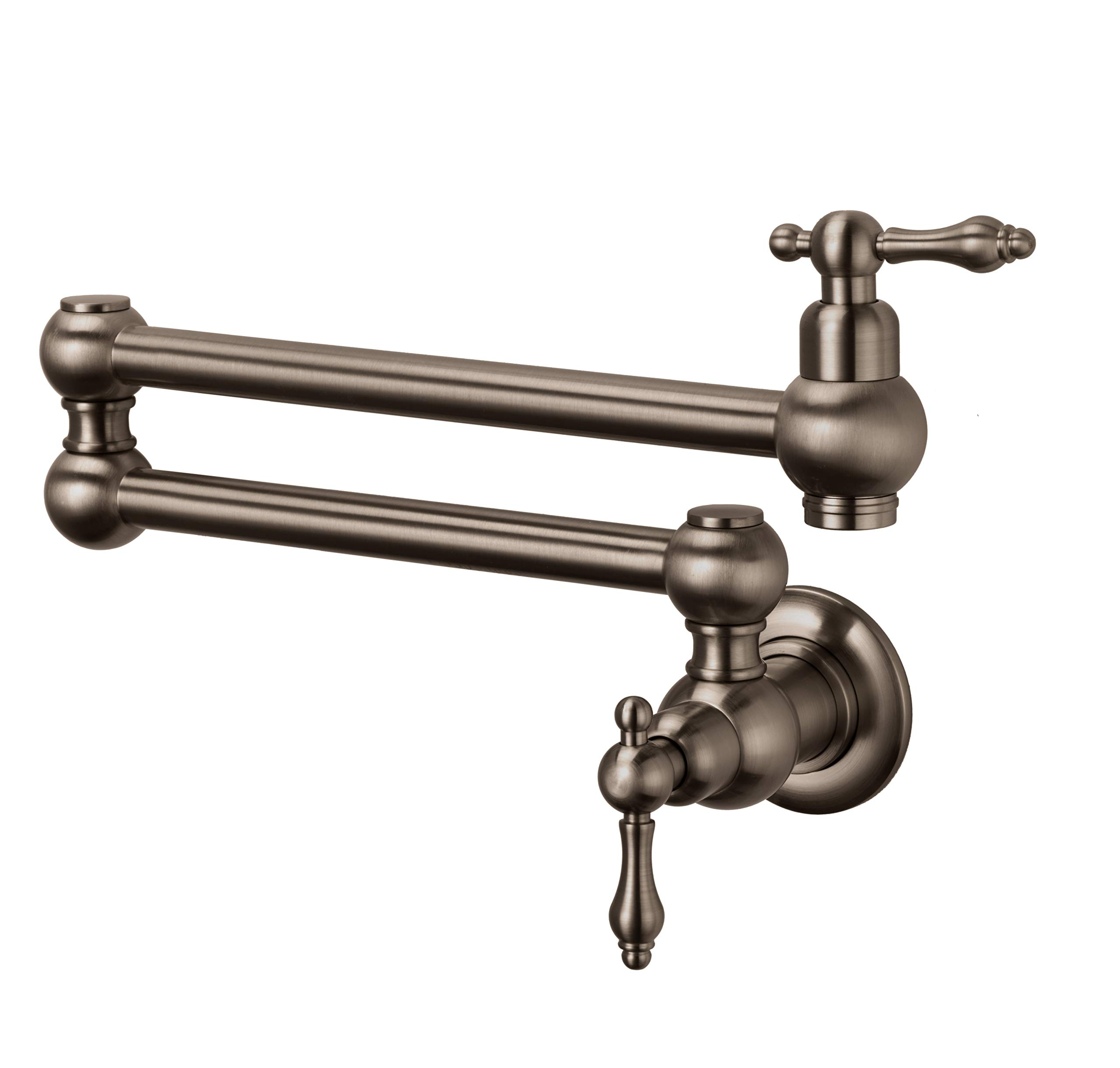 Wall Mounted Pot Filler Faucet (Classic, Aged Bronze)
