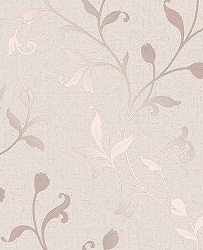 Fine Decor Fd42209 A Quartz Trail Papier Peint Or Rose Amazon Fr