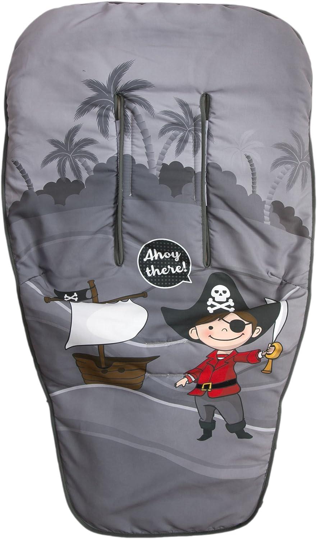 Colchoneta para silla de paseo Babyline Barco Pirata Chico